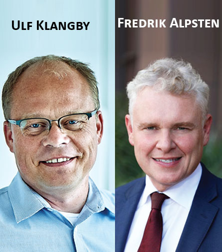 Ulf Klangby, founder and COO & Fredrik Alpsten, CEO, Devyser