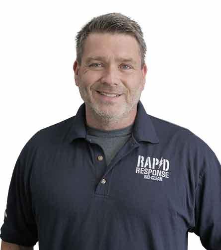 Lance Hamel, President, Rapid Response Bio Clean